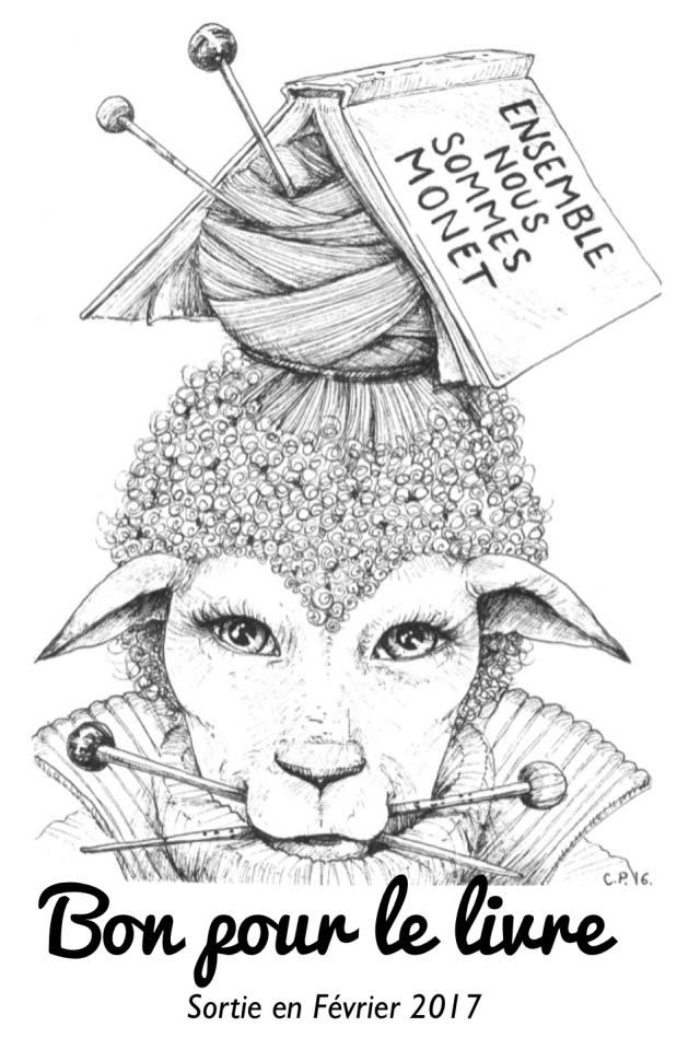 illustration mouton monet